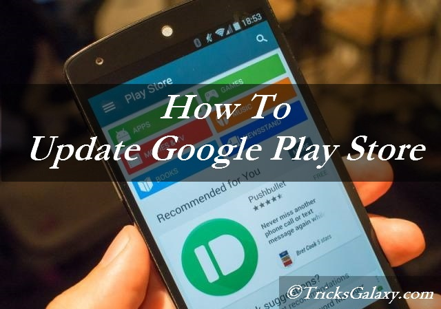 How To Update Google Play Store