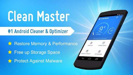 10 best cleaner booster apps to speedup android s performance 100pakweb - Clean master optimizer apk ...