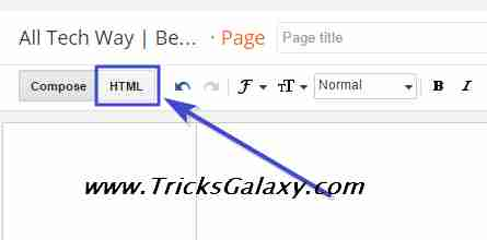 Create New Sitemap Pages in Blogspot