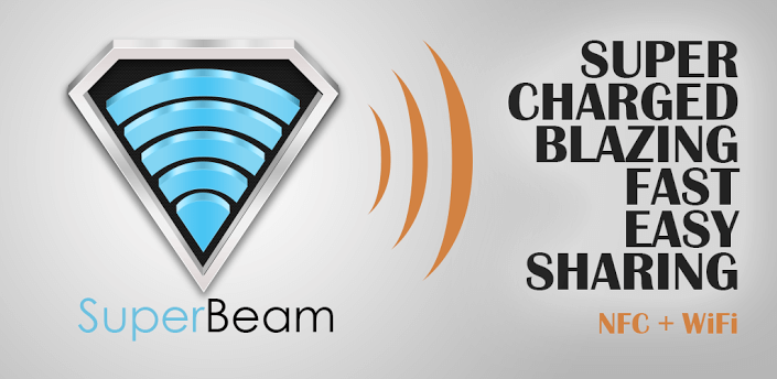 SuperBeam Share File Wirelessly with WiFi Direct