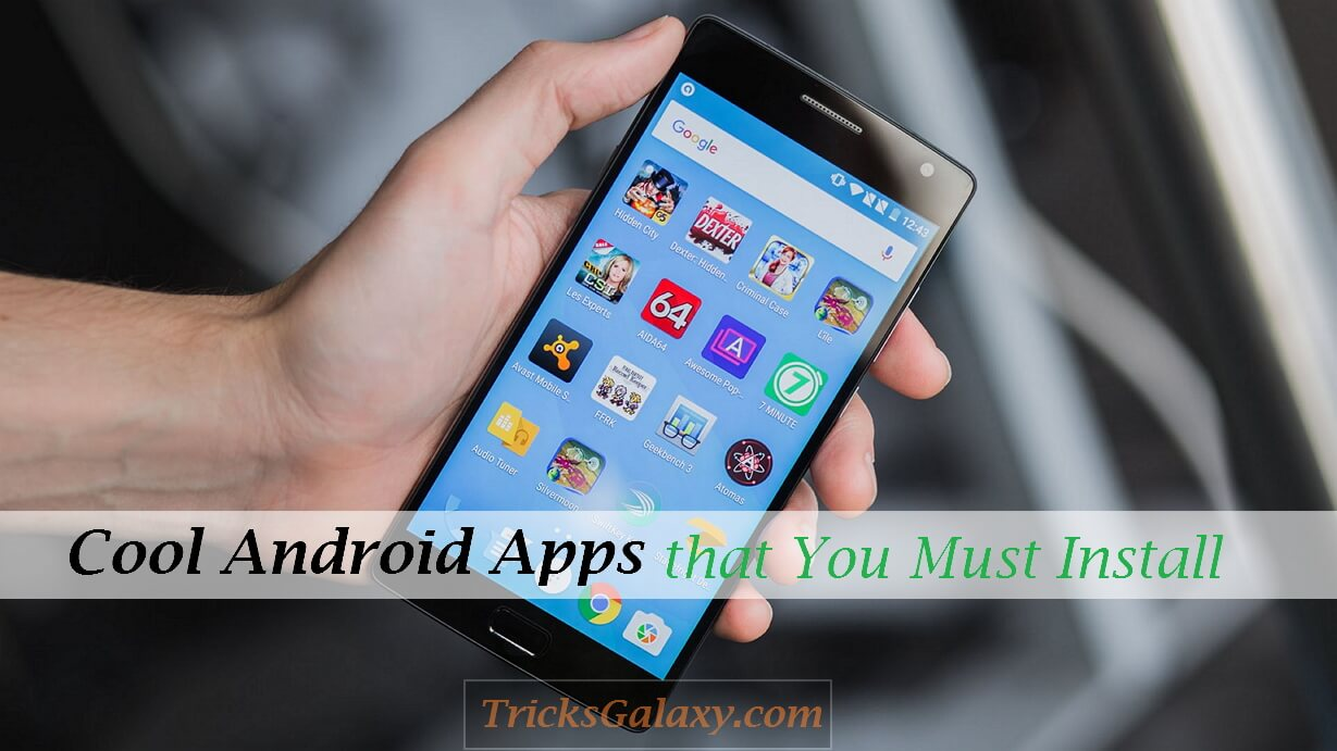free cool apps for android