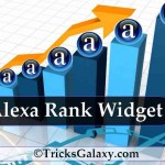 How to Add Alexa Rank Widget to Your Blog or Website