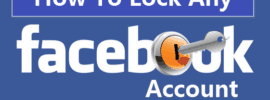 How to Lock Any Facebook Account