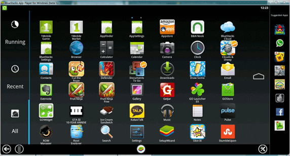 how to run android apps on windows 8 pc