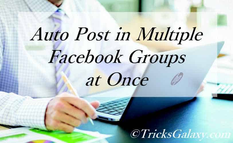 How to Auto Post in Multiple Facebook Groups at Once Using Gmail 2018 [Script not Needed]