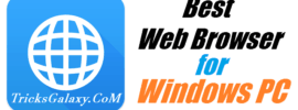 Best Browser for Windows PC 2016