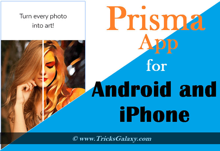 Prisma App for Android iPhone