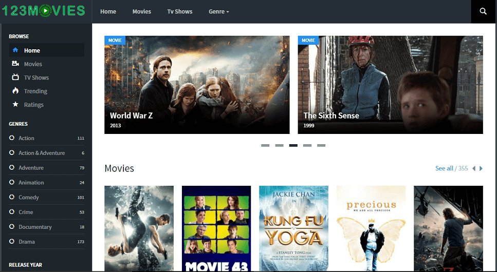 123 Movies Streaming Sites