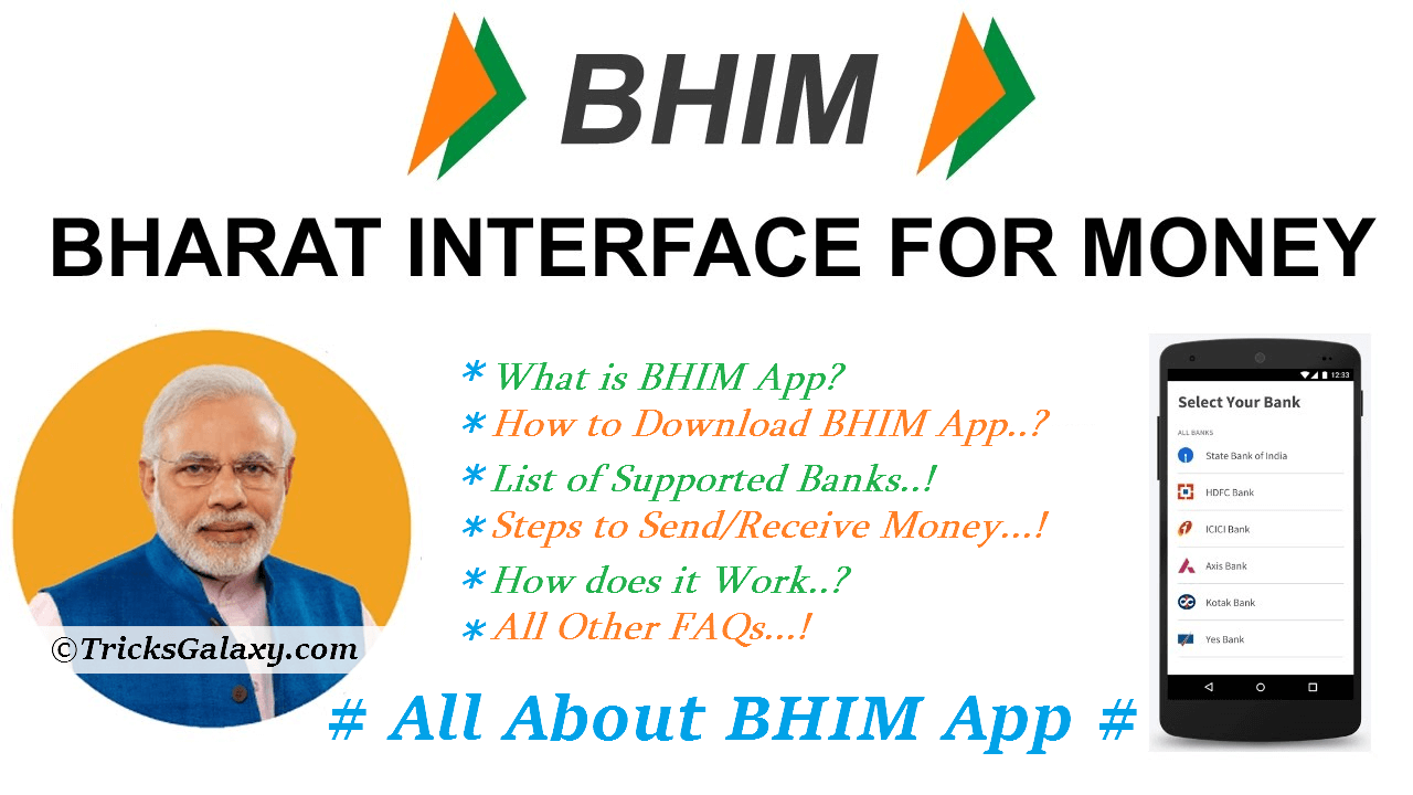 BHIM App Download Use & FAQs