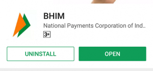 BHIM App Download from PlayStore