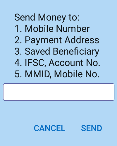 BHIM UPI Offline Transaction