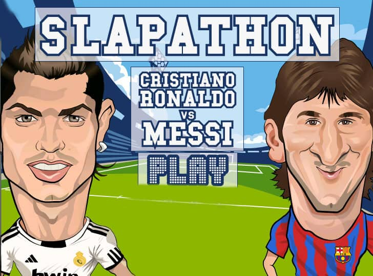 Ronaldo vs Messi Fight