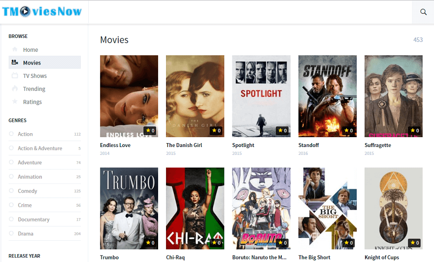 Tube movie sites