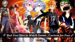 Best Sites to Watch Anime & Cartoon Online 2017