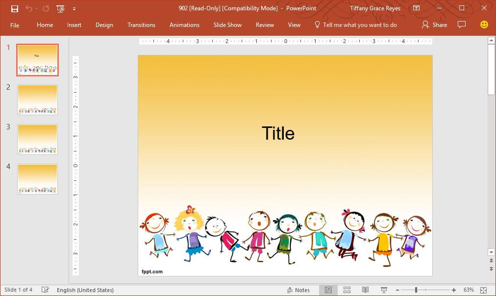 FPPT childrens-games-powerpoint-template