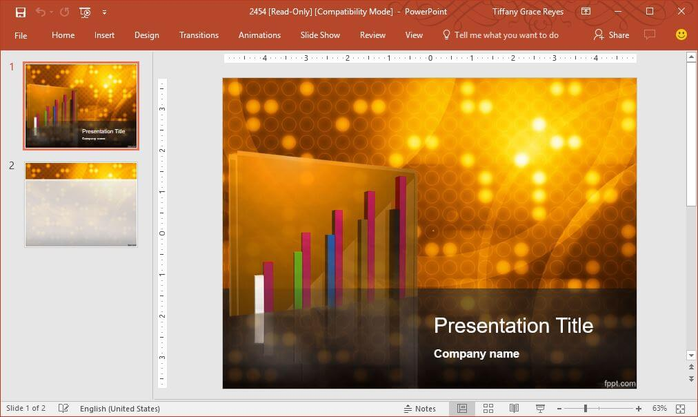 FPPT gold-business-powerpoint-template