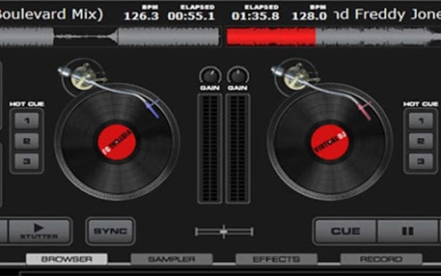 Virtual Mixer for DJs