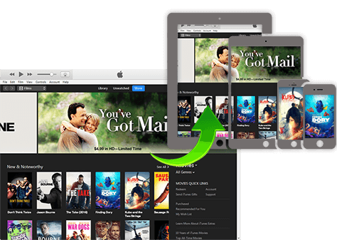 Remove DRM play itunes video