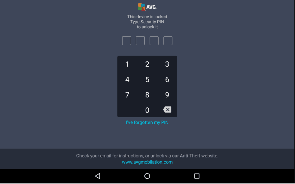 AVG Device Lock