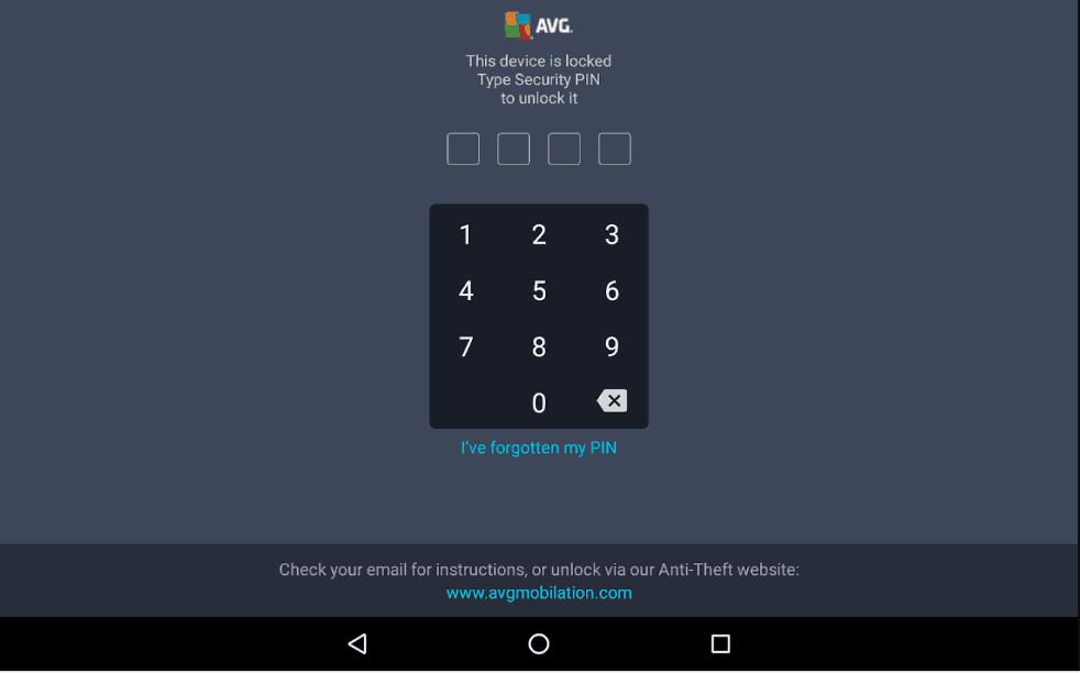 AVG Device Lock