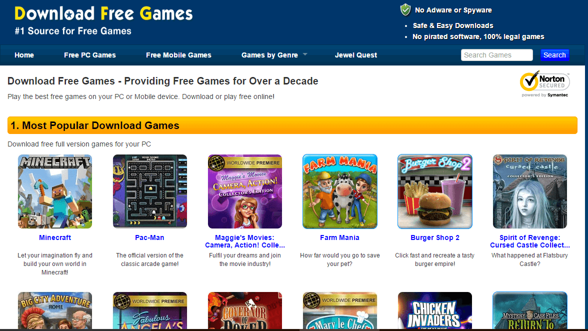 Download Free Games