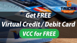 Free VCC Get Virtual Credit Card