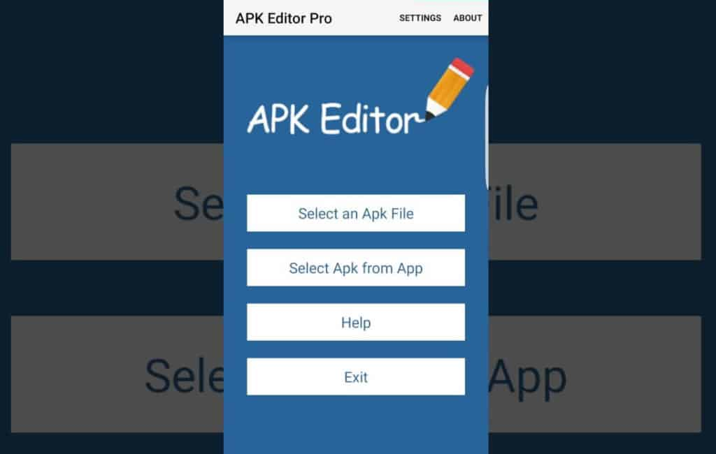 APK Editor Pro for Editing ANdroid App