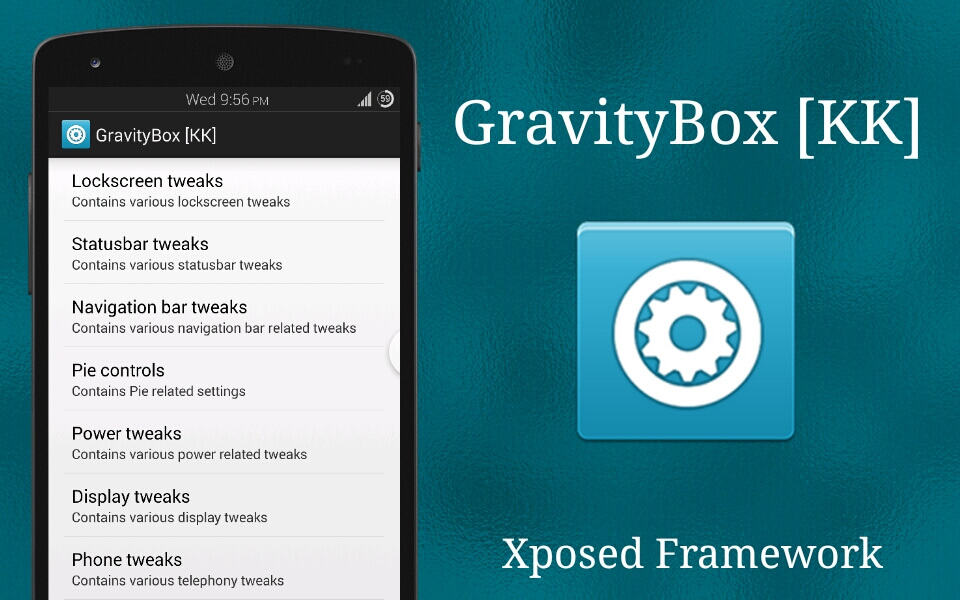 GravityBox Xposed Module APK App