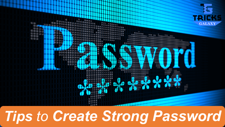 how to create a strong password and remember it