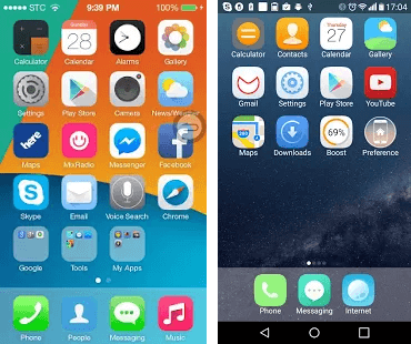 iLauncher OS 10 for Android