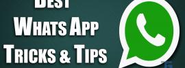 Best WhatsApp Tricks & Tips