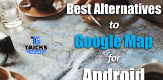 Google Map Alternatives