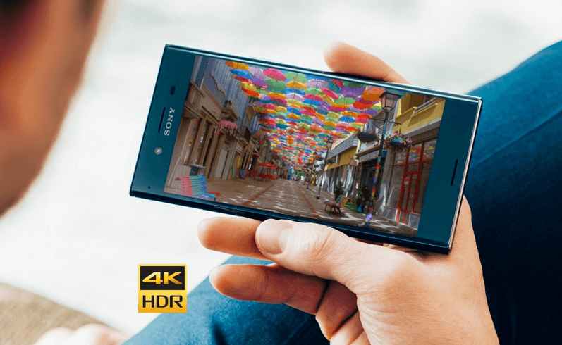 4k Smartphone Display