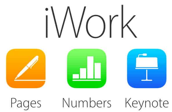 Apple iWork MS Office alternative
