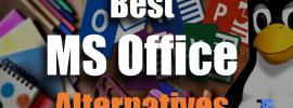 Best MS Office Alternatives
