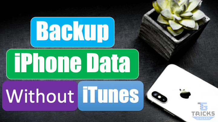 Backup iPhone Data without iTunes