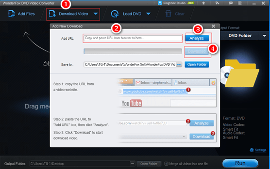 Download YouTube Videos using WonderFox DVD Video Converter